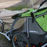 nowoczesna przyczepka roweorwa