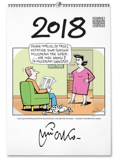 kalendarz ścienny 2018